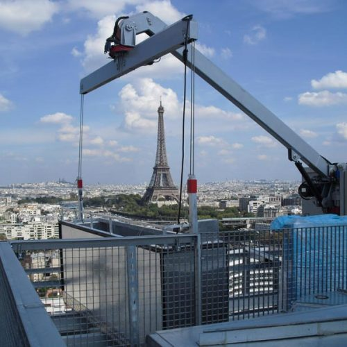 Group of facade access solutions – France
